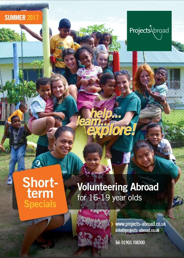 Projects Abroad Leaflet - Short-term specials