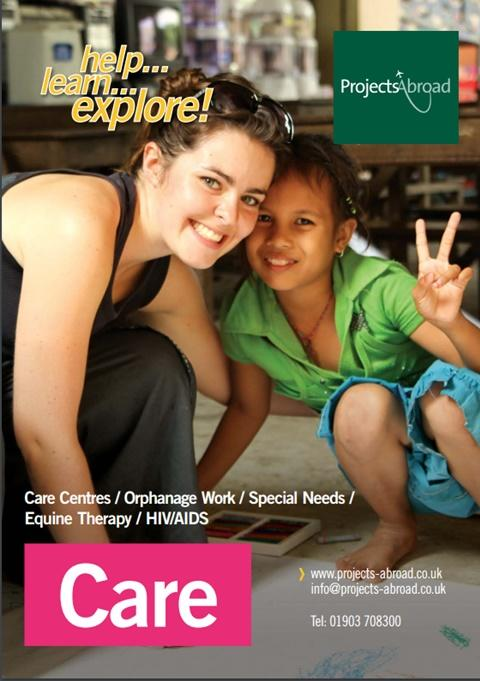 Projects Abroad Leaflet - Care