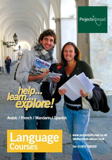 Projects Abroad Leaflet - Language Courses