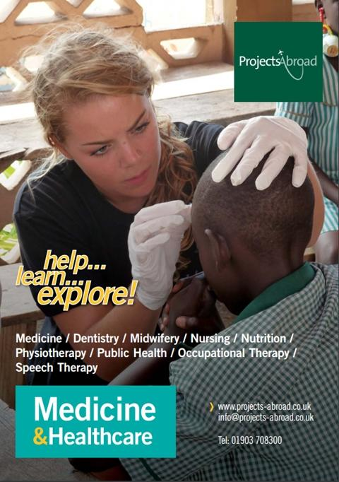 Projects Abroad Leaflet - Medicine