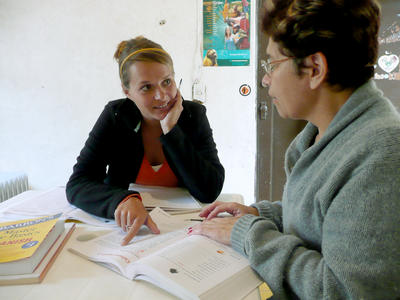 Projects Abroad volunteer learning Spanish on a Language Course in Mexico