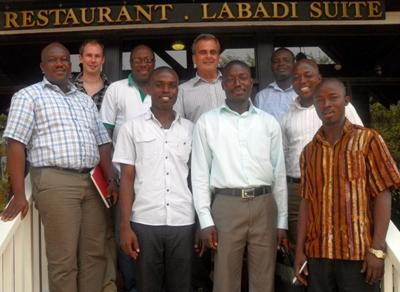 Staff Group in Ghana