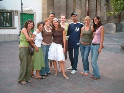 Volunteers in Mexico