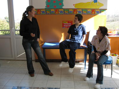 Projects Abroad Physiotherapy volunteers in Romania