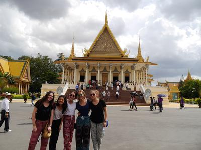 Join our Middle School project in Cambodia and visit world-famous attractions