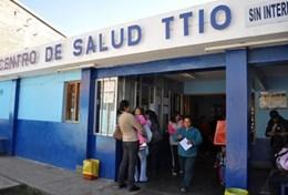 A view of a local health centre where Midwife volunteers work in Peru
