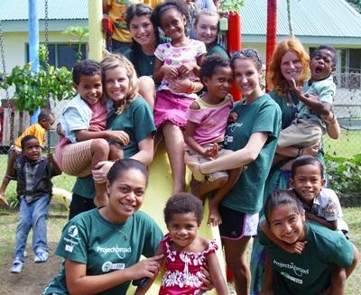 Community Village Project in Fiji
