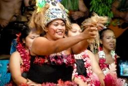 High school students volunteer to help the local community and learn about the culture and traditions in a village in Samoa.