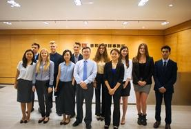 Volunteers at our Law & Business internship in China prepare for their first day of work at a local lawfirm.