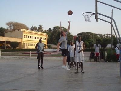 Basketball Sports coaching in Ghana
