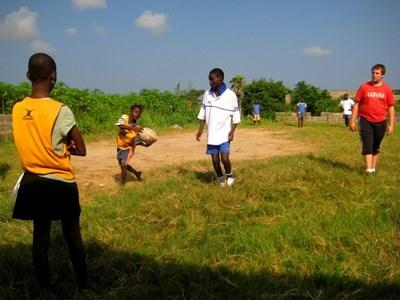 Gap Year rugby coaching projects in Ghana