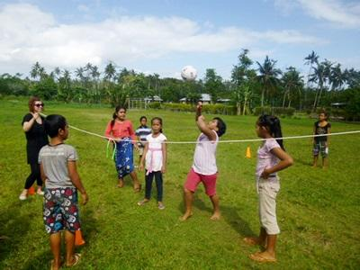 Volunteer Coaching sports in Samoa