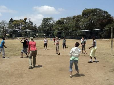 Schools Sports work in Tanzania