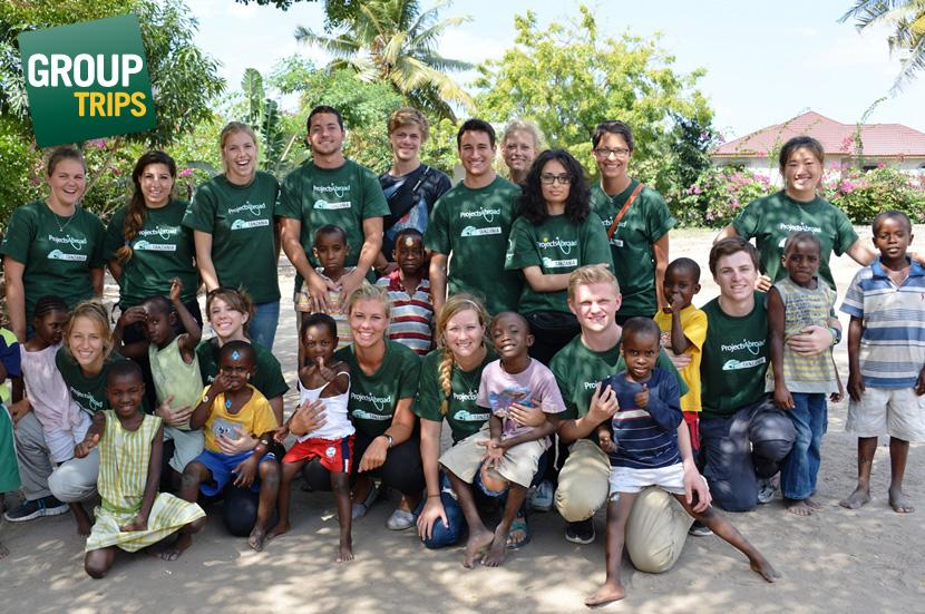 Volunteer Group Trip projects